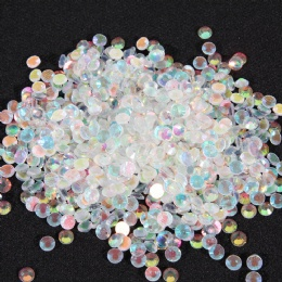 SS20 Color AB crystal flat back glass rhinestones